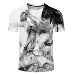 Ink Digital 3D Print t shirt Men Women tshirt Summer