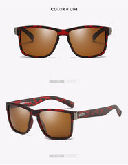 DUBERY Brand Design Polarized Sunglasses Men Driver Shades
