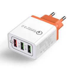 Universal 18 W USB Quick charge 3.0 5V 3A for Iphone 7 8  EU US Plug Mobile Phone - ar-sho.com
