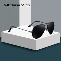 MERRY'S DESIGN Men/Women Classic Pilot Polarized