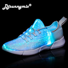 DJSUNNYMIX Led Shoes for adults USB charger Lighted Up