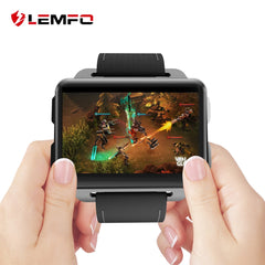LEMFO LEM4 Pro Android Smart Watch Phone Support GPS SIM Card