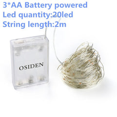 1-10m LED String Lights LED Battery - ar-sho.com