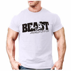 New Arrival Creative Art Design Beast t shirt for Men - ar-sho.com