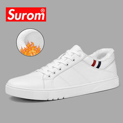 SUROM 2018 Spring New Men Casual Shoes Breathable