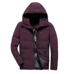 Brand Winter Jacket Men Clothes 2018 Casual Stand Collar Hooded - ar-sho.com