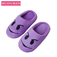 Shoes Women slippers Soft Velvet Indoor Floor Expression