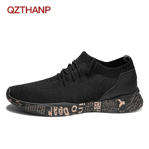 Men Sneakers Casual Flats Shoes Soft Fashion Male