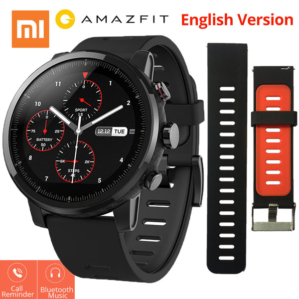Xiaomi Mi Huami Amazfit Smart Watch Stratos 2 English