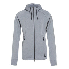 Original NIKE New Arrival Official AS ICON FLEECE FZ HOODIE Anti-Pilling Men's Jacket Hooded Sportswear 809473-010 - ar-sho.com