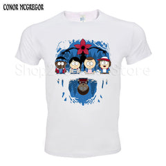 Stranger Things south Park 2017 Summer cotton t shirt Men - ar-sho.com