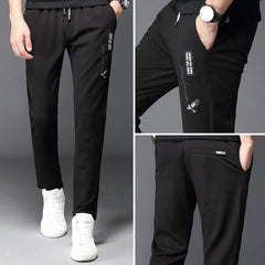 Brand Trousers Men 2018 New Straight Long Pants Breathable