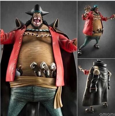 22cm One piece Marshall D Teach doll