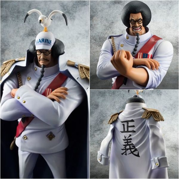 One Piece Sengoku Action Figure Anime Model Navy
