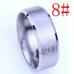 Fashion Jewel, stainless steel superman ring,