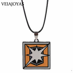Game Rainbow Six Siege Alloy Pendants Necklace Rope