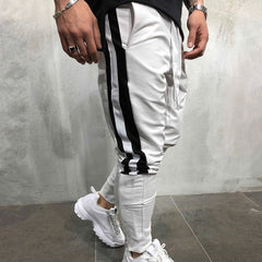 Autumn Winter New Mens Cotton Sweatpants Man Gyms