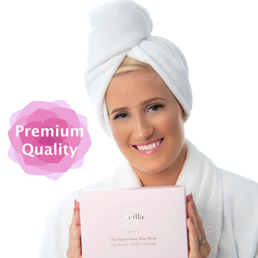 PREMIUM Quality Super Sassy Hair Towel Wrap Scilla Rose