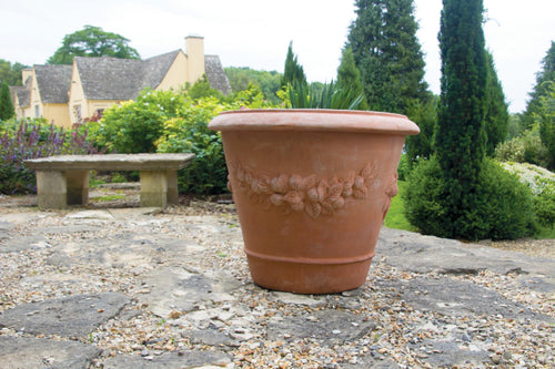 Terracotta Swag Planter