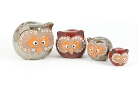 Box Of Ball Owls