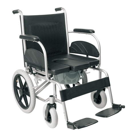 Aluminium Commode Wheelchair FS609LU