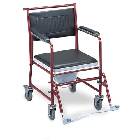 Commode Wheelchair FS691
