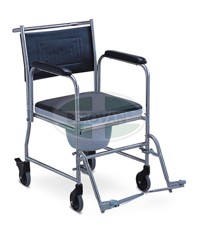 Stainless Steel Commode Wheelchair FS691S