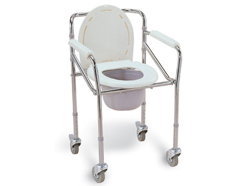 Commode Chair with Wheels FS696