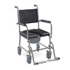 Stainless Steel Commode Wheelchair FS697S