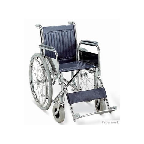Chrome Steel Wheelchair FS901-46
