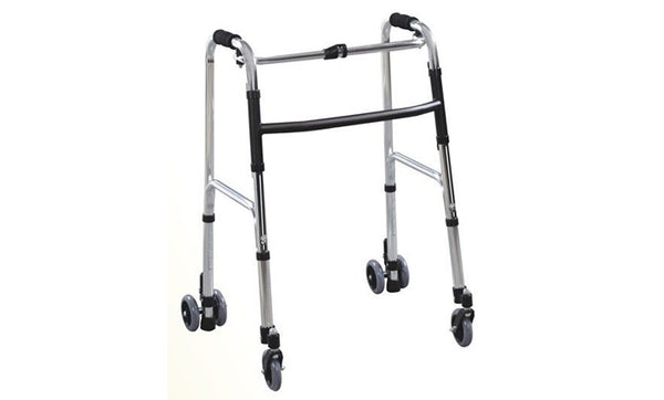 Steel Walker with Wheels FS9128L