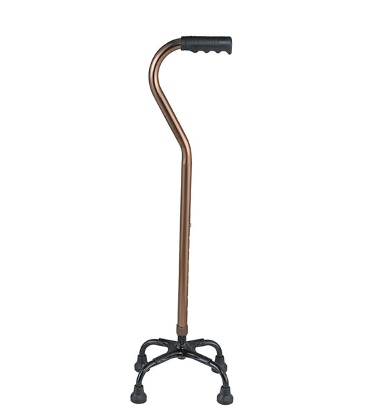 Chrome Quad Walking Stick FS9212L