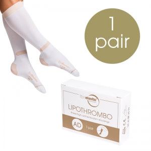 AD Lipothrombo Calf Stockings