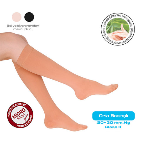 Knee High Stockings (Closed Toe) V-905