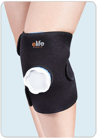 Ice Bag Knee Wrap