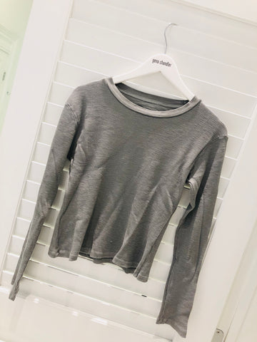 Christina Lehr - Thermal T - Light Grey