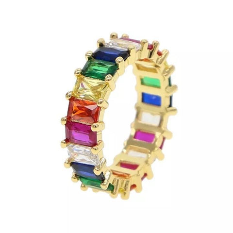 Boho Beads Chloe Rainbow Ring