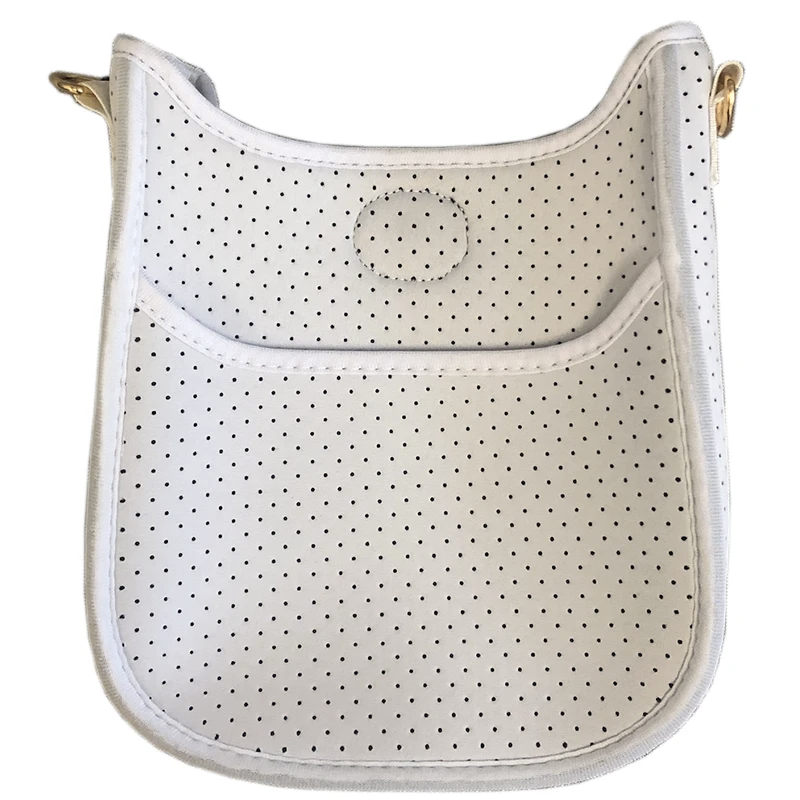 Mini Neoprene Messenger- White