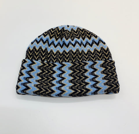 Missoni Knitted Hat - Blue