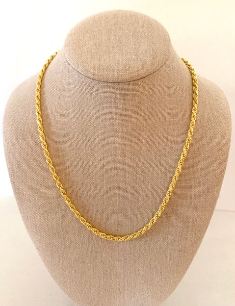 Boho Beads Vail Rope Chain Necklace