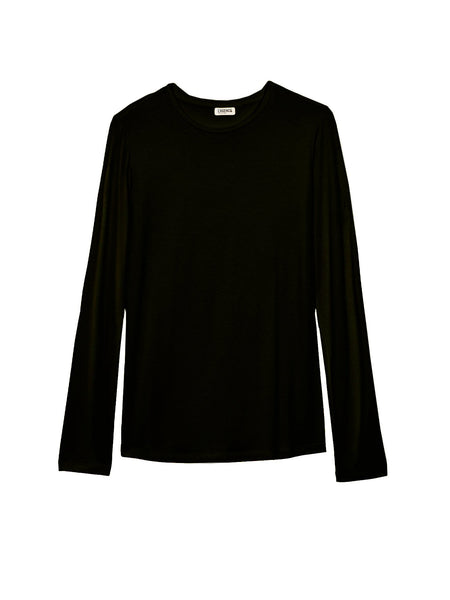 L'Agence - Tess Crew Neck Long Sleeve - Black
