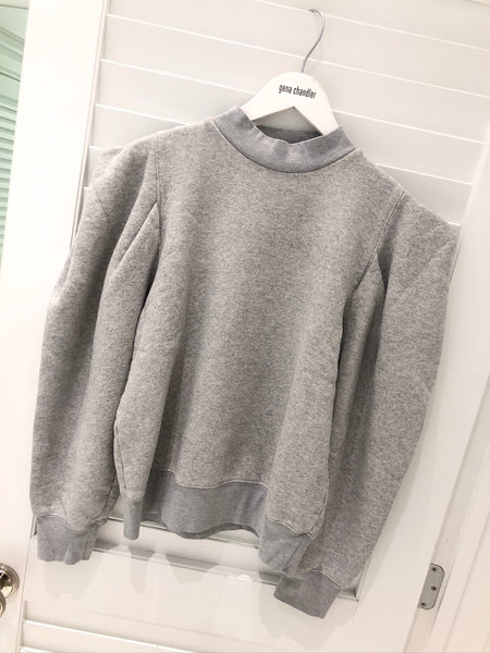 Agolde - Folded Sweatshirt - Grey