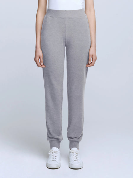 L'Agence Moss Jogger Pants - Heather Grey