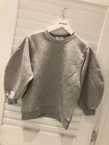 Agolde Thora Sweatshirt - Heather Grey