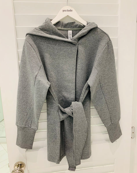 Varley - Cove Wrap Sweat - Grey