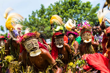 PNG Tribal Dancers