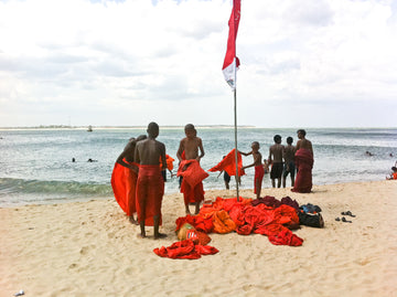 Novice Monks Beach Day