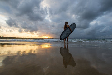 Sunset Surfer Byron Bay