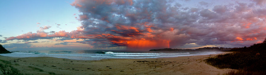 Storm Front Narrawallee (panorama)