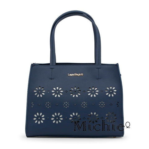 Laura Biagiotti Navy Tote - Bags - Handbags United States Free Shipping